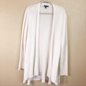 Eileen Fisher Open Front Long Cardigan 3X